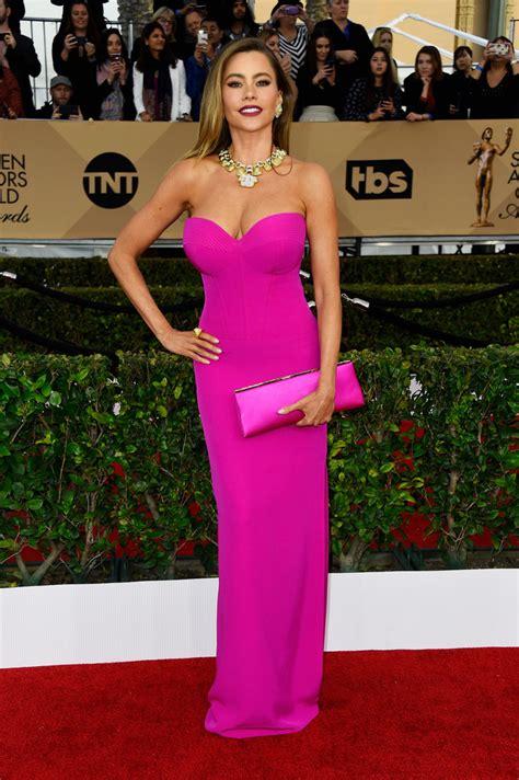 Fashion Dress Jy E Sofia sofia vergara strapless dress sofia vergara looks