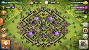 Collection of th9 farming base for new update in december 2015 and