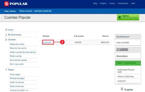 cuenta del banco popular c 243 mo buscar estados de cuenta popular centro de ayuda