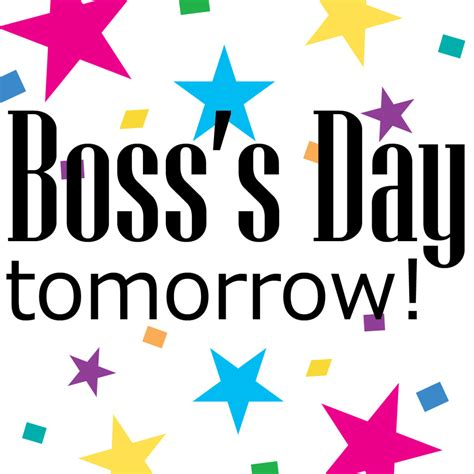 National S Day Top 10 Ways To Celebrate Boss S Day 2015