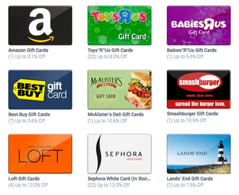 List Of Gift Cards - sell and buy your gift cards for less new startups
