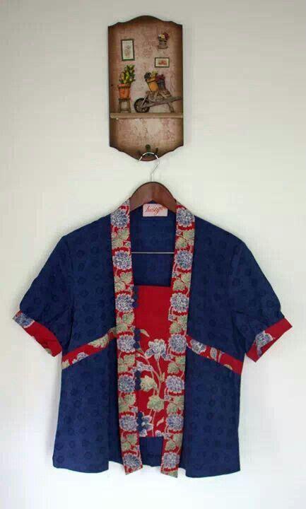 X73 Maureen Batik Gamis kebaya kombinasi batik