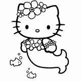 imprimer le coloriage hello kitty sirene pour imprimer le coloriage ...