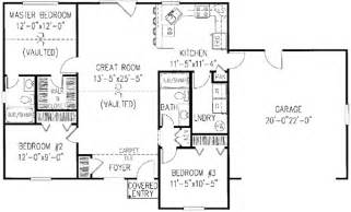 House Plans For 1200 Square Feet Country Style House Plans Plan 13 101