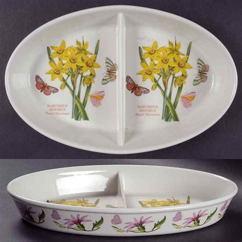 Portmeirion Botanic Garden Ebay Portmeirion Botanic Garden Narcissus Oval Divided Vegetable Bowl 6283096 Ebay