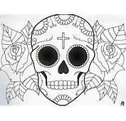Sugar Skull Tattoo Design By MaddyField