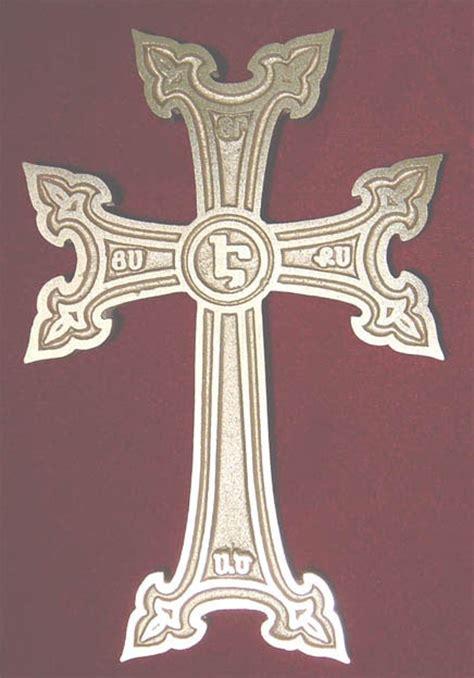armenian cross tattoo jerusalem armenian cross all types of crosses symbols pinterest