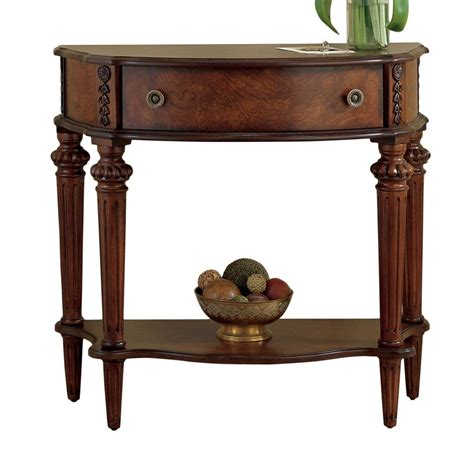 Half Sofa Table Shop Butler Specialty Plantation Cherry Half Console