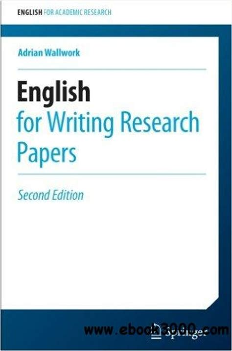 the esl writer s handbook 2nd ed pitt series in as a second language books for writing research papers 2nd edition free