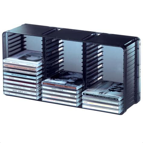 Cd Storage Rack by Domino 45 Cd Storage Rack In Black By Atlantic 36635731