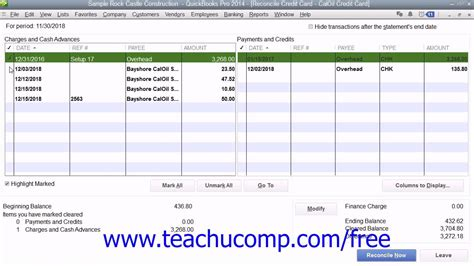 quickbooks tutorial on youtube quickbooks pro 2014 tutorial reconciling and paying credit