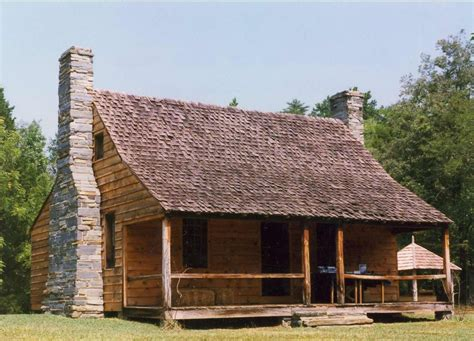 Morrow Mountain Cabins by Stanly County Museum
