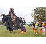 Pumpkin Bowling Haunted Houses Live Entertainment A Bike Rally And