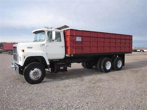 trucks for 1988 ford l8000 farm grain truck for sale 248 338 miles