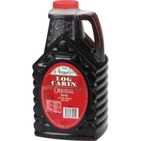 log cabin original syrup 32 pound maple