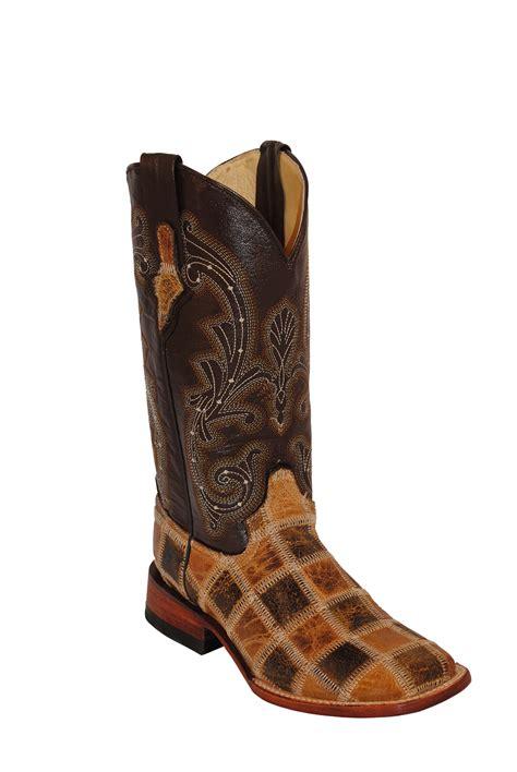 Ferrini Patchwork Boots - pungo ridge ferrini patchwork western boots