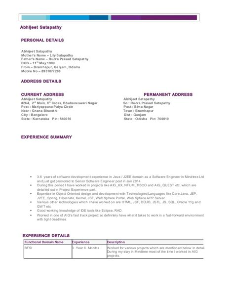 my resume preview doc