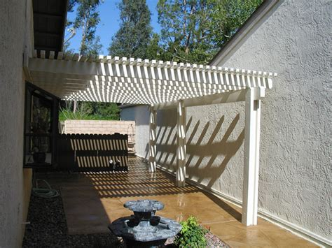 lattice awning lattice alumawood patio covers griffith awnings