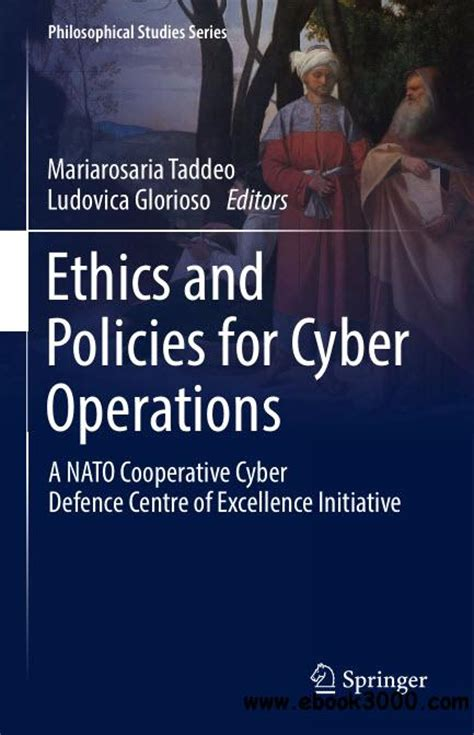 the of ethics in business operations books ethics and policies for cyber operations a nato