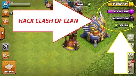hack clash of clans android hack clash of clan 2017 android and ios no root