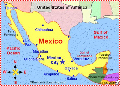 regions geo mexico the geography of mexico map of mexico political geography map of mexico regional