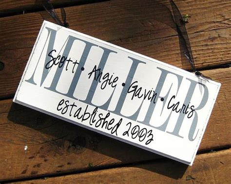 personalized home decor signs personalized family wood sign home decor established date