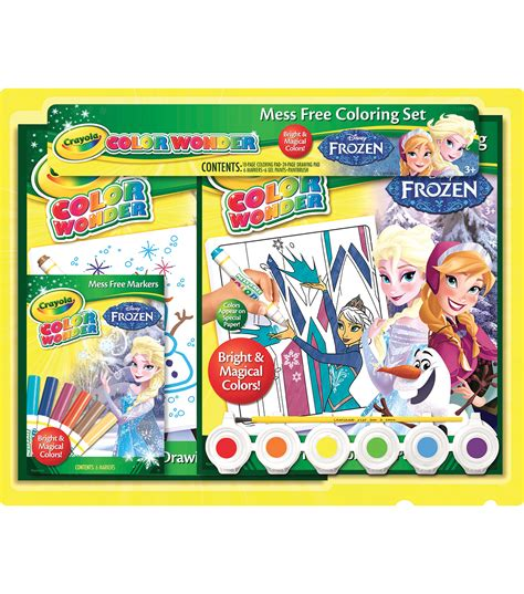 frozen coloring pages crayola crayola color disney frozen gift set jo