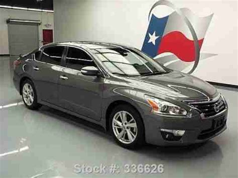 2014 nissan altima sunroof nissan altima 2 5 sl auto sunroof nav rear cam 18k 2014