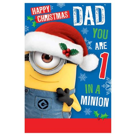 despicable  minions christmas cards assorted ebay
