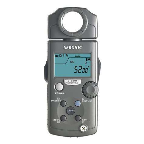 500 to meters sekonic prodigi color c 500 light meter sekonic from