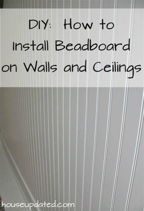 how to install beadboard ceiling popcorn 13 creative bathroom organization and diy solutions 6