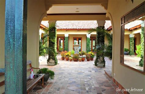 Spanish Style House Plans With Interior Courtyard caracao house from the bachelorette courtyard hooked on