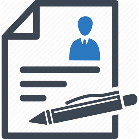 Create A Online Resume by Application Form Application Form Icon
