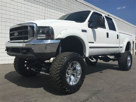 99 Ford F250 by L K Lifted 99 Ford F250 Crew Xlt 4x4 Tv Dvd 7 3