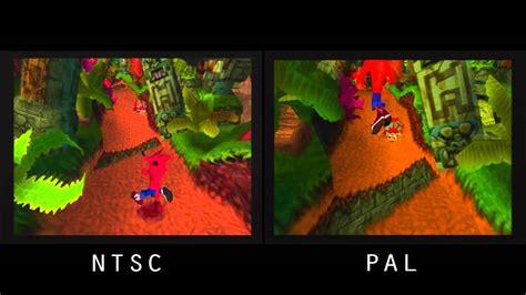 format dvd ps2 pal vs ntsc crash bandicoot psx youtube