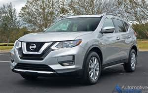 Awd Nissan 2017 Nissan Rogue Sv Awd Review Test Drive