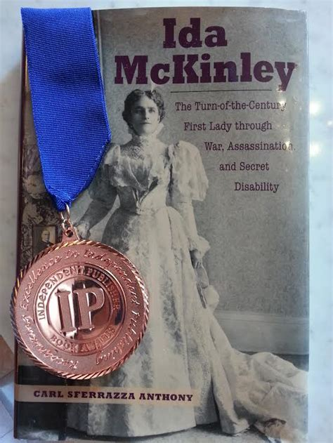 biography book awards awards for ida national first ladies library s mckinley