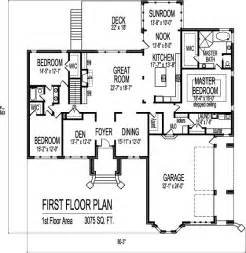 3 Bedroom House Plans One Story Contemporary Designs And Layouts Of 3 Bedroom House Floor Plans 1 Story