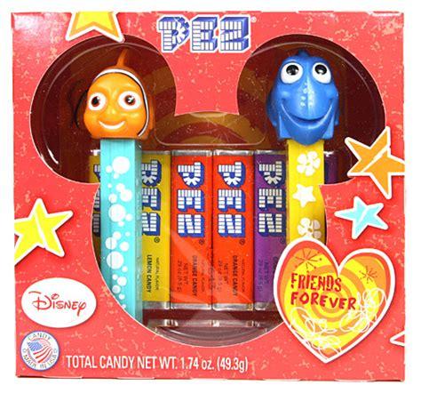Permen Pez Dispenser Nemo Set momopez valentines gift set nemo dori friends