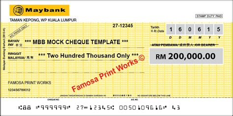 Mock Cheque Template Download Quantumgaming Co Mock Cheque Template
