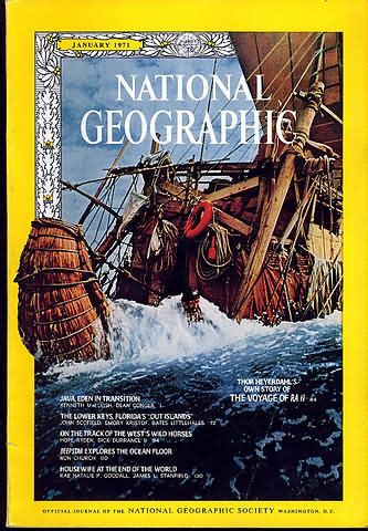 National Geographic 1971 Jual Satuan backissues national geographic january 1971 product details