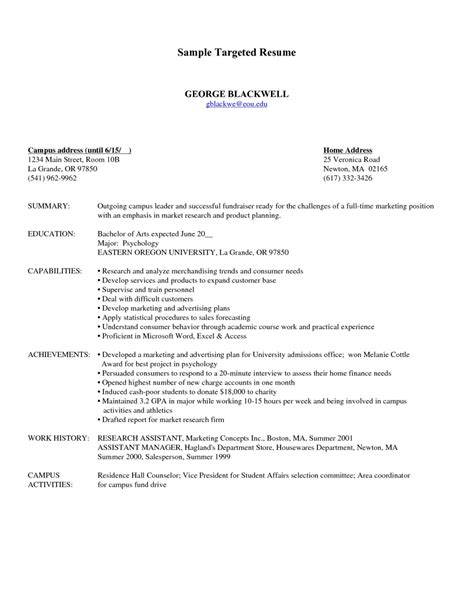 update 204 targeted resume samples 31 documents