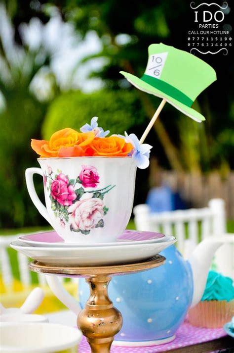 Tea Cups Decorations by Kara S Ideas Vintage In Birthday Tea Kara S Ideas