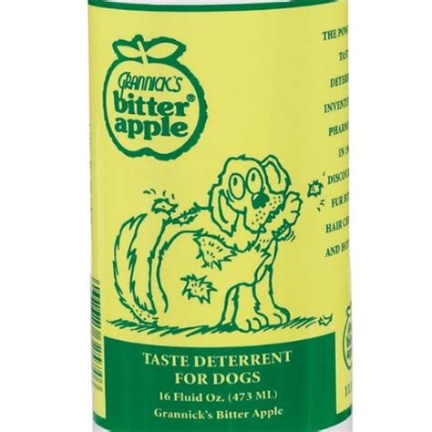 bitter spray for dogs grannick s bitter apple for dogs spray bottle 16 ounces best discount pet supplies
