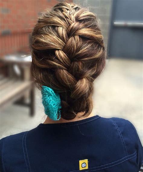 5 double fishtail braids braid love pinterest teen cute braided hair for nurses or health care workers hair