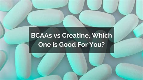 amino or creatine bcaas vs creatine which one should you take