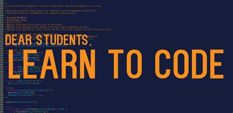learn to code an open letter to design students learn to code part 1