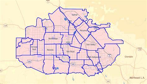 map of neighborhoods 2 file los angeles times map of neighborhoods in san