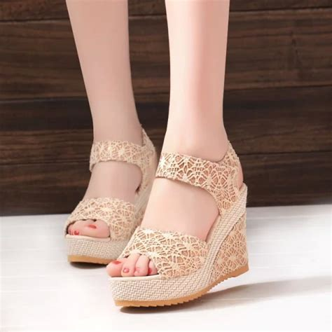 Sneakers Wedges Wanita 5cm Include hansenne lace wedges end 10 13 2018 10 10 pm