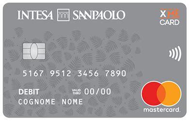 banco di napoli carta di credito carta di debito xme card prelievo mastercard e modifica